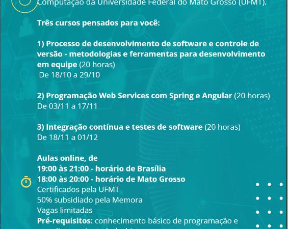 ETICO: oferta de cursos